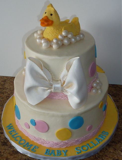 duckie Baby Shower Duck Cake