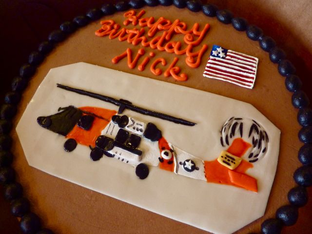 Coast Guard Birthday Cake