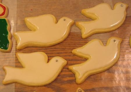 White Dove Cookies